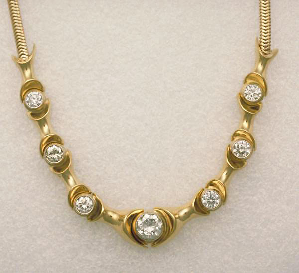 Diamond Neckpiece